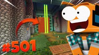 """Minecraft #501 - """"Podwodna świątynia, posągi! Road to 1MLN!"""""""