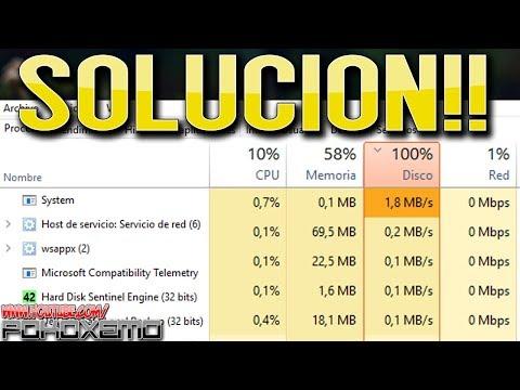 [Solucion] Uso Del Disco Duro 100% En Windows 10/8/8.1