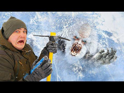 Эти опасные и жуткие находки мы нашли во льдах, где затонул снежный человек!
