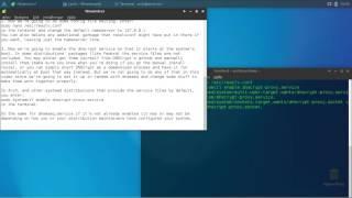 DNSCrypt and dnsmasq Linux setup.
