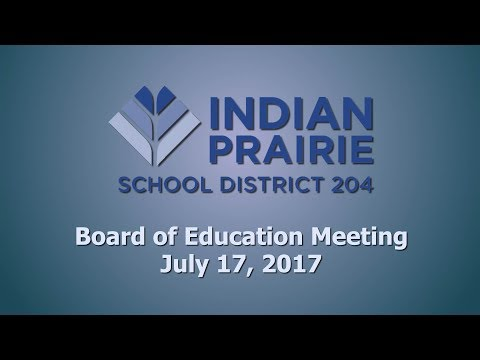 School Board Meeting 07/17/2017