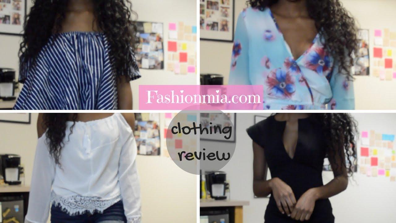 Fashionmia.com Clothing Review!  SamariSafari \u2665  YouTube