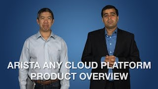 Arista Any Cloud Platform Product Overview