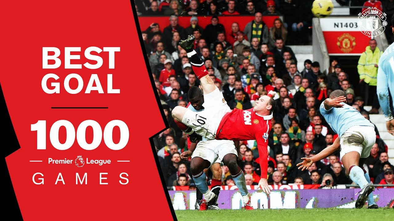 Manchester United 1000 PL games: Vote for our best GOAL for the chance to win some amazing prizes!