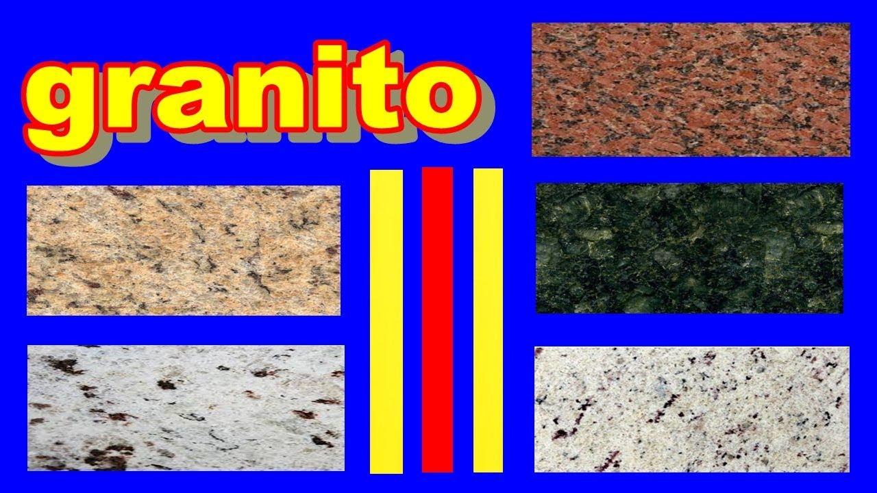 Tabela de cores granitos tipos de granitos youtube for Tipos de granitos