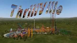 ThrillVille! NoLimits 2 Amusement Park Trailer!