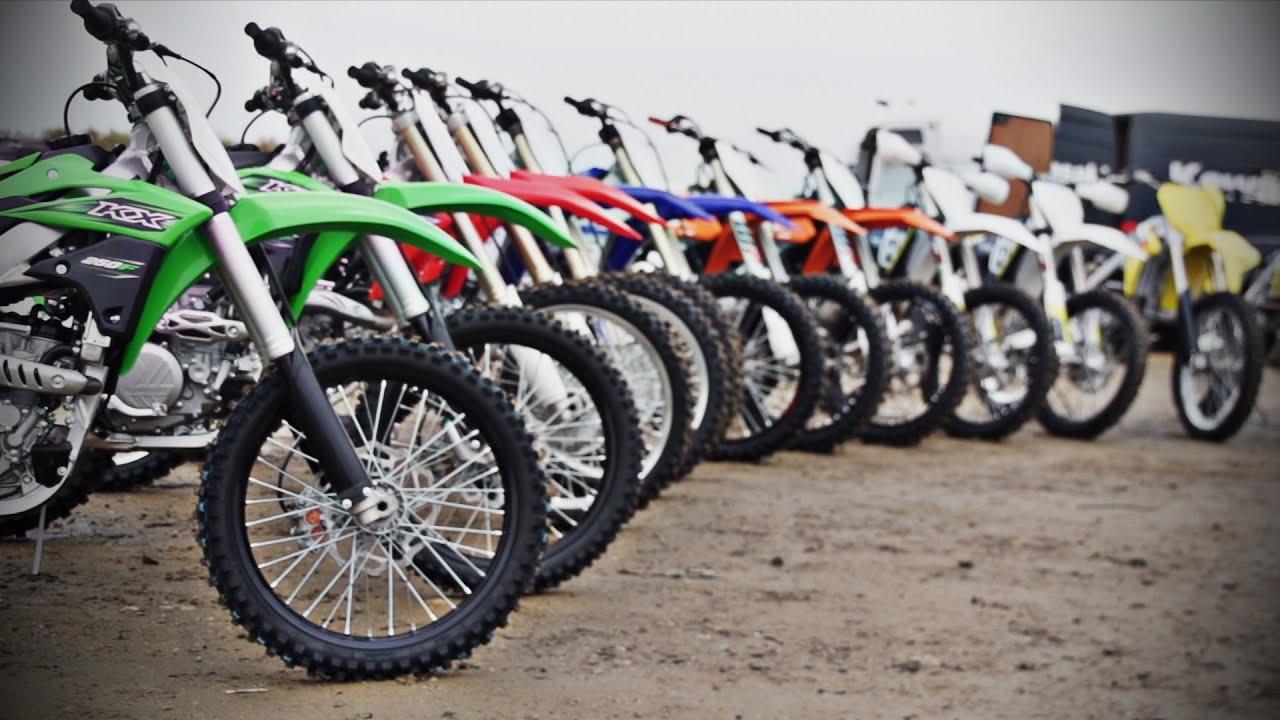 2016 Dirt Bike Mega Test Battle Of The Bikes Youtube