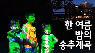 한 여름밤의 송추계곡 #vlog @ 2002.6.22