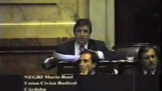 Mario Negri | 14-12-2005 - Mayorías para Prorrogar Impuestos