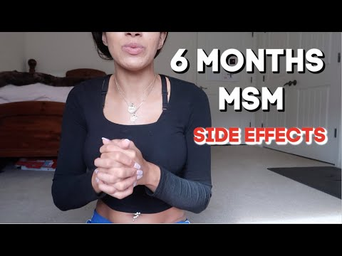 Nasty Side Effects 6 Months On MSM