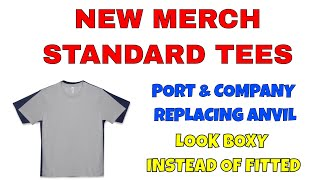 Amazon Changes Standard Shirt from Anvil to Port & Company | Good or Bad?