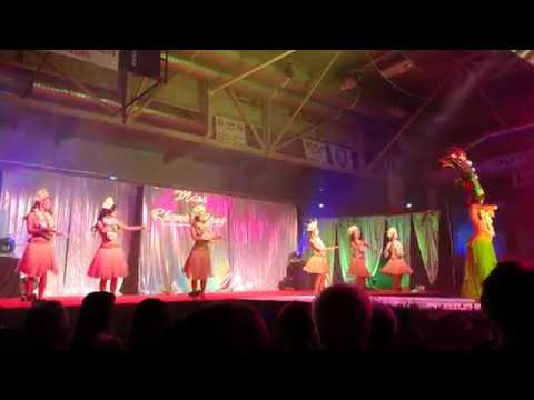 Danse Tahitienne Miss Rhone Alpes 2016