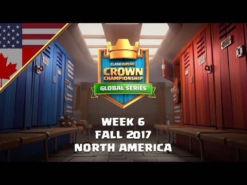Clash Royale: Crown Championship NA Top 10 - Week Six | Fall
