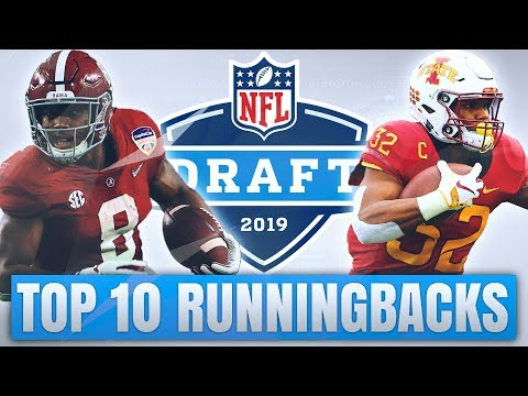 Top 10 Running Backs in the 2019 NFL Draft