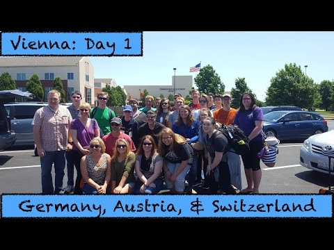 1st Day in Vienna: Germany, Austria, & Switzerland Travel Vlog