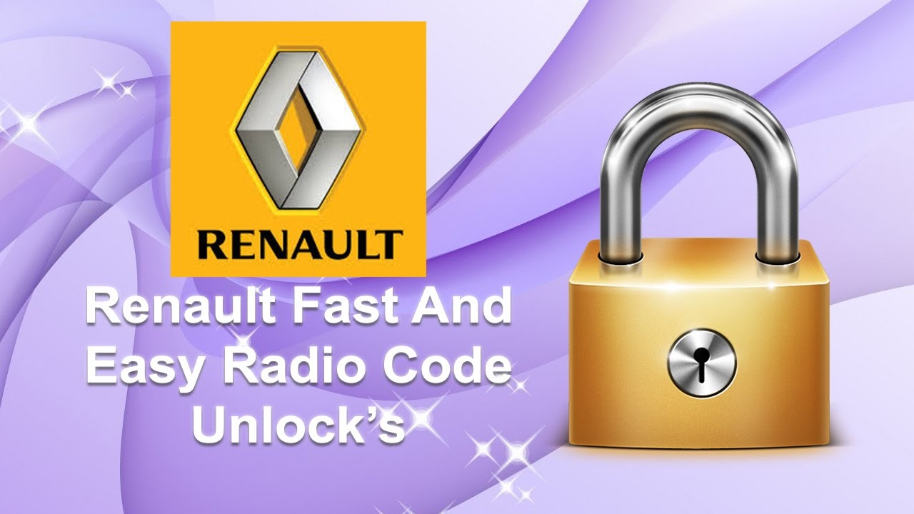 How To Find All Renault Radio Code Using Serial No