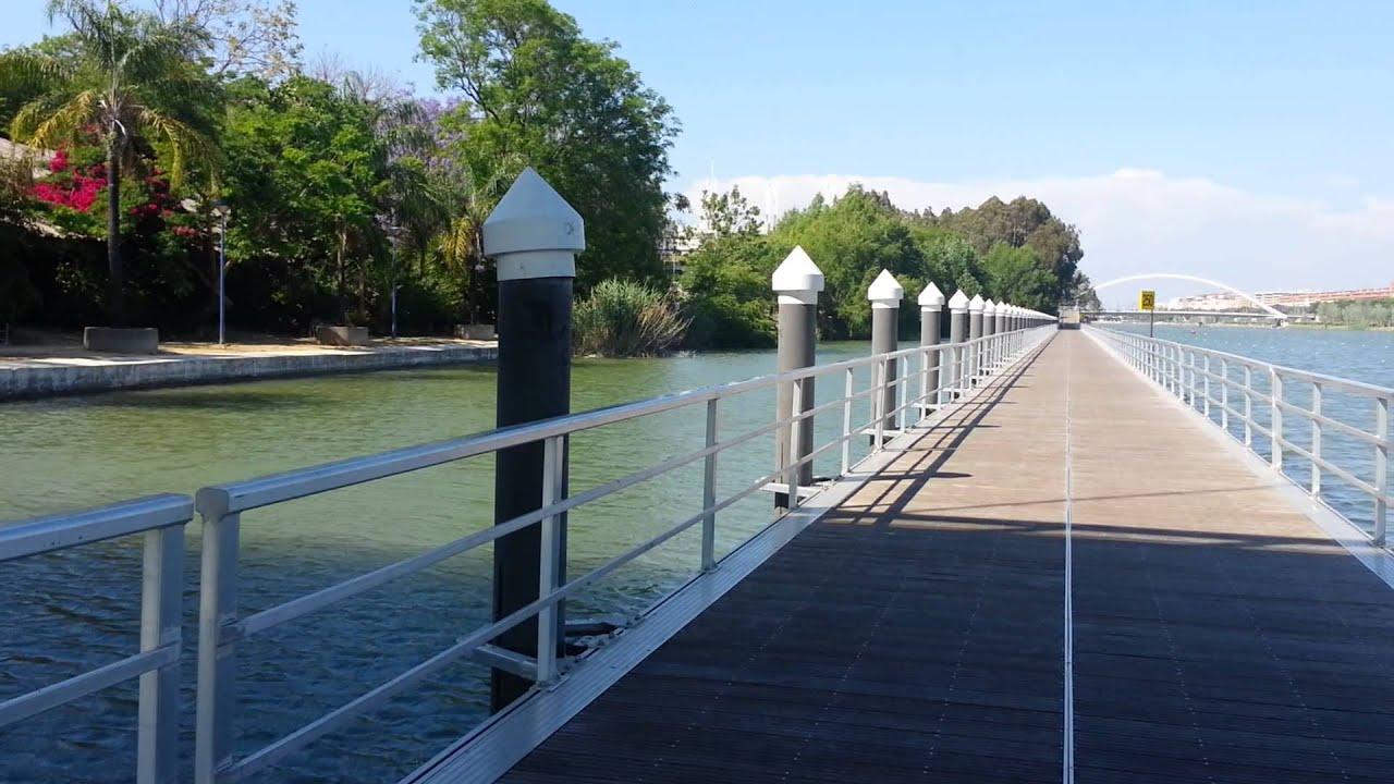 Puente del jard n americano de sevilla youtube for Jardin americano sevilla