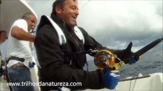 507 lbs/ 230Kg Blue Marlin - Azores Stand up Big Game Fishing  2012.