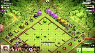 Clash Of Clans: Atacando Aldea TH10 Free Botín (Sin Defensas / Aldeas Raras) By Hawkserk