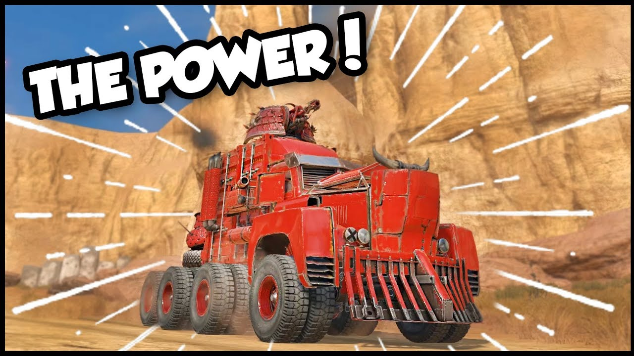Crossout - EPIC RIG Of Power! New Years & Christmas Update ...