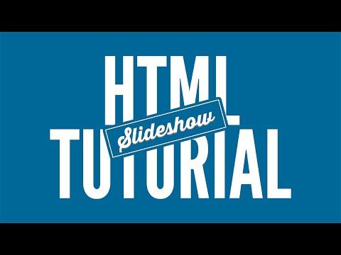 Slideshow Erstellen Und Einbinden - HTML Tutorial • [German] [HD]