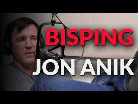 Chael Sonnen says Bisping was wrong, Jon Anik was right and should not apologize.