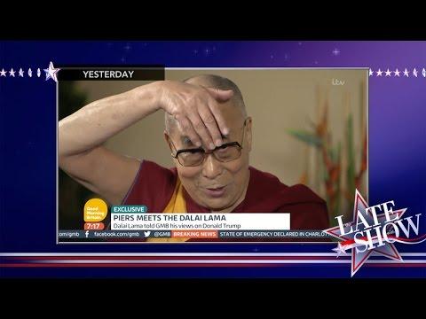 The Dalai Lama Does A Great Donald Trump Impression