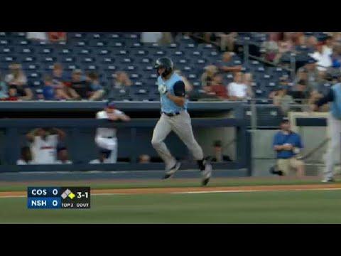 Colorado Springs' Taylor opens the scoring