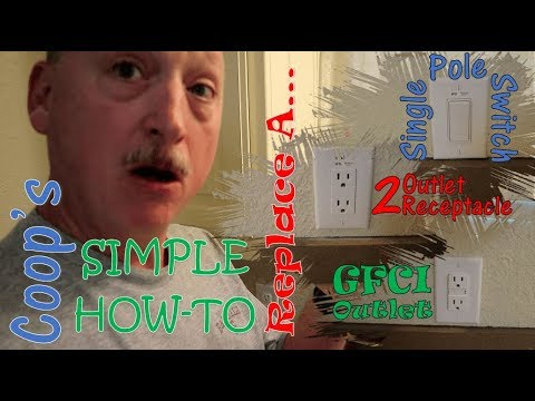 Coop's Simple How-To - Replace Switches and Outlets
