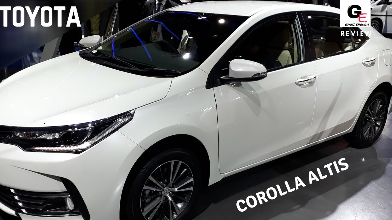 2018 Toyota Corolla Altis Interiors Exteriors Walkaround Actual Look Youtube