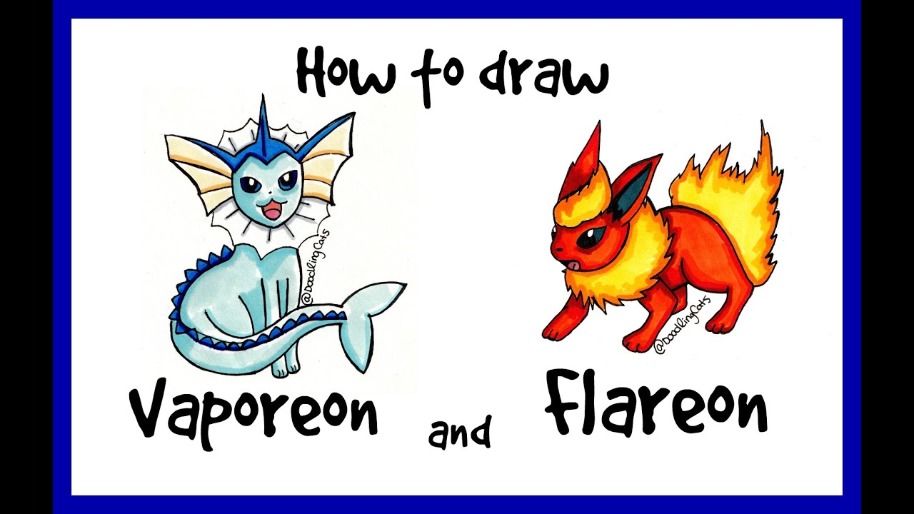 how to draw eevee youtube