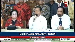 Ini Alasan Jokowi Pilih Ma'ruf Amin