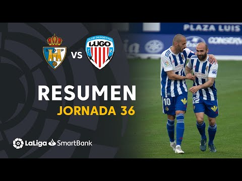 Ponferradina Lugo Goals And Highlights