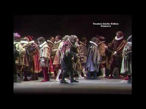 G. Verdi, Rigoletto: Cortigiani, vil razza dannata