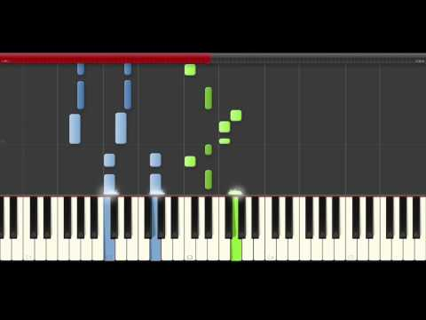 Don Diablo Save a Little Love Piano Midi tutorial Sheet app Cover Karaoke
