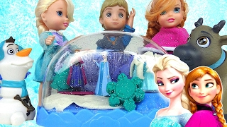 Play-doh Disney Frozen Sparkle Snow Dome Elsa's Skating Rink