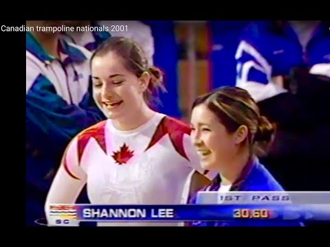 Canadian trampoline nationals 2001