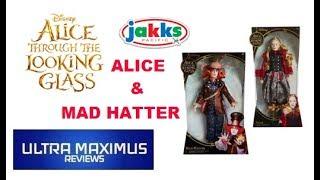 Disney's Alice & Mad Hatter Alice Through the Looking Glass (2016) Jakks Pacific
