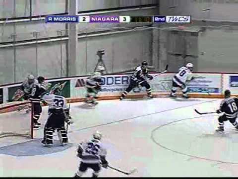 Chris Noonan Makes A Big Save - Jan. 28, 2011
