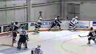 Chris Noonan Makes A Big Save - Jan. 28, 2011