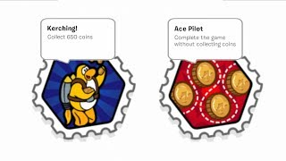 Jet Pack Adventure Stamp Guide - Ace Pilot and Kerching! Stamps - Club Penguin Rewritten
