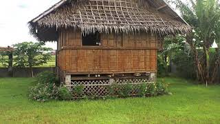 Philippines Traditional Kubo Tiny House.