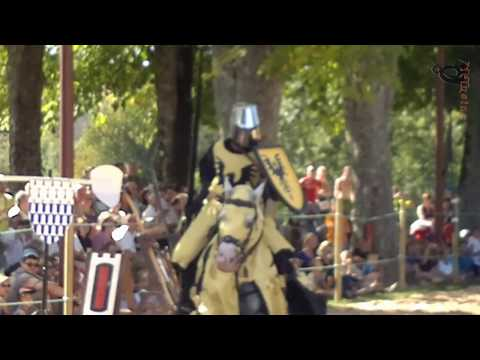 Tournoi de Chevalerie des Chevaliers de Mélusine -  Amaury II Lusignan contre Foulque Nerra