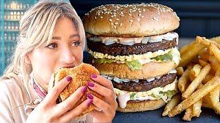 This Restaurant's Secret Menu Item is a VEGAN Big Mac! | Vegan Fast Food