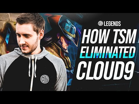 Beating CLOUD9 To Make It Into WORLDS!   TSM LEGENDS