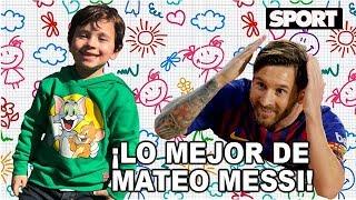 LO MEJOR DE MATEO MESSI | EL HIJO MÁS TRAVIESO DE LEO MESSI 😈