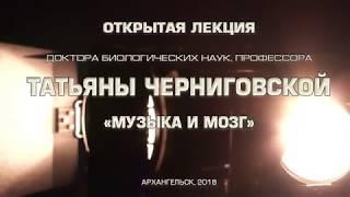 Открытая лекция профессора Татьяны Черниговской 'Музыка и мозг'
