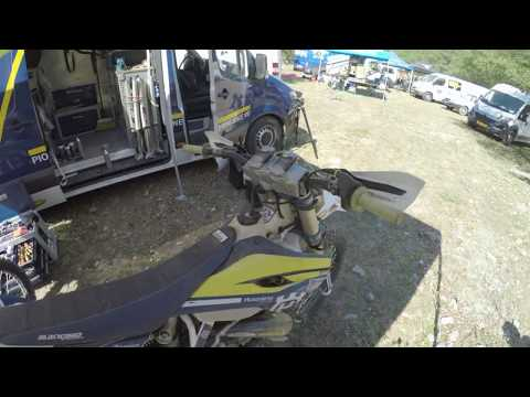 2015 Red Bull Romaniacs - OnBoard Graham Jarvis - Factory Husqvarna - Day 3 Part 2 - POV RAW