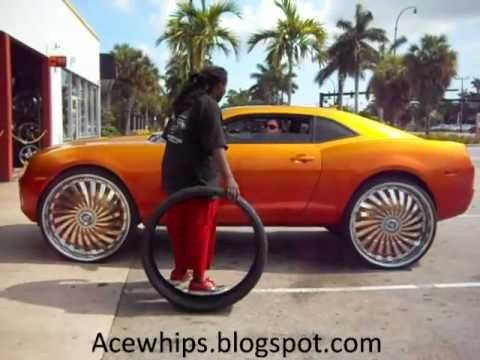 Acewhips Net Mayra S Chevy Camaro On 30 Quot Dub Swyrl