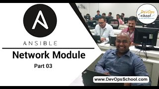 Ansible with network module (Part 03) — By DevOpsSchool